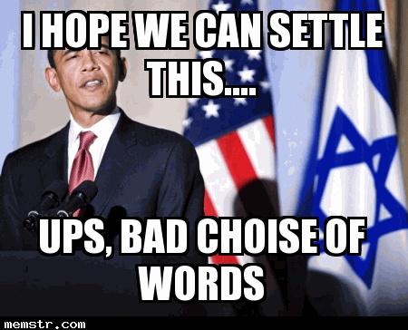 Obama settles down