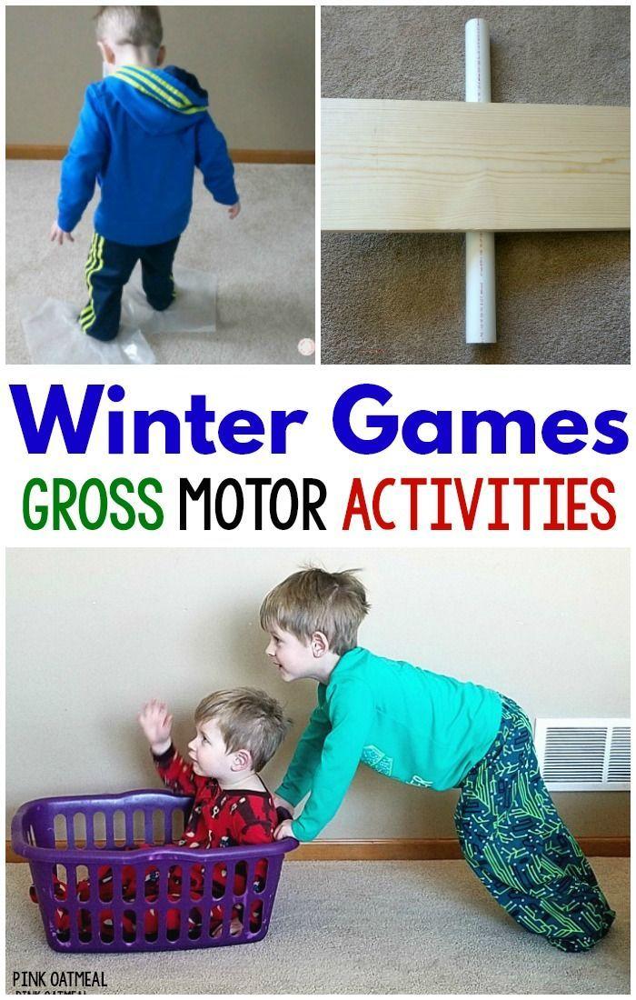 Winter Games Gross Motor Activities Gross Motor Activities Motor Skills Activities Motor Activities