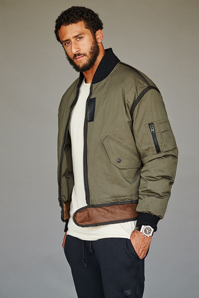 Mr Colin Kaepernick | The Look | The Journal | Issue 237 | 07 October 2015 | MR PORTER