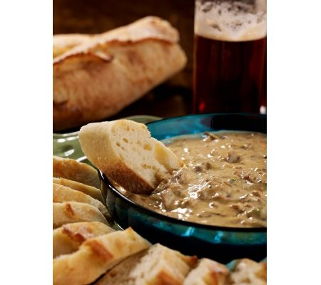 Philly Cheese Steak Dip which is a Game Day Favorite by David Venable of QVC