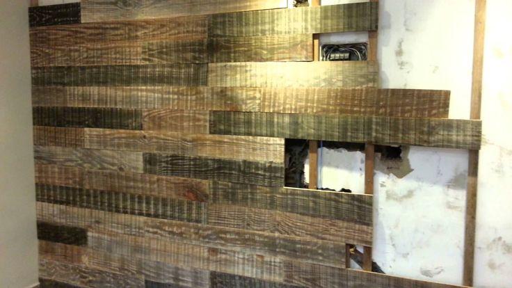 painel reciclado Casa de campo Pinterest Madeira e