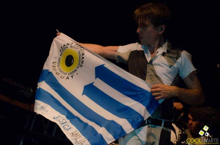 FRANZ FERDINAND EN URUGUAY imagen - FRANZ FERDINAND - 24 SEP. 2014 - LA TRASTIENDA CLUB MONTEVIDEO © Ramo Aguirre