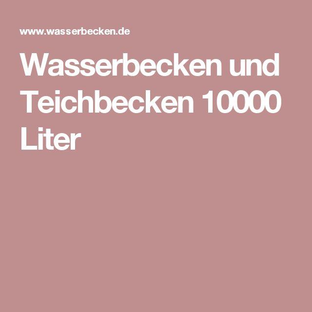 Más de 25 ideas fantásticas sobre Fertigteich en Pinterest - wasserbecken kunststoff rechteckig