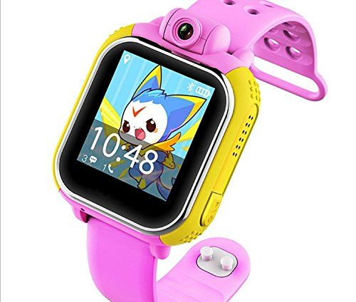 VALETY Kid GPS Watch G75 1.54inch Smart Watch Wristwatch 3G SOS Call Location Finder Locator Device Tracker For Kid Safe Anti Lost Monitor With Camera PINK Christmas Gift. Support 3G network;It blocks the calls from stranger automatically. When your child is in emergency situation, the SOS button would be a great help. Press on that key and last three second,will call the pre-set number twice. When receive the monitoring instruction from the phone, KOBWA kid smart watch will return to...