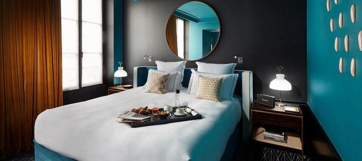 Интерьер недели: парижский шик отеля Le Roch. http://faqindecor.com/ru/interer-nedeli-parizhskij-shik-otelya-le-roch/