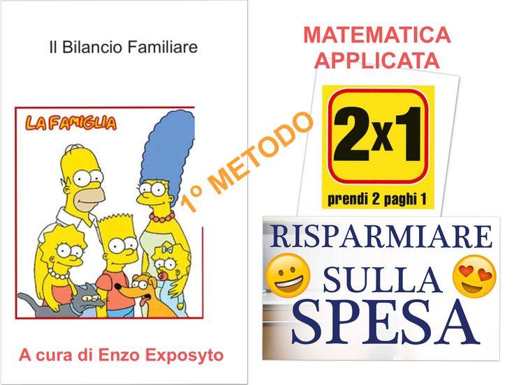 COPERTINA ...   FAMIGLIA - RISPARMIARE sulla SPESA - SCEGLIERE il PUNTO VENDITA PIÚ CONVENIENTE - PRIMO METODO - ESEMPIO con CALCOLI e GRAFICI PASSO PASSO  #bilancio_familiare #economia #economics #equation #equations #equazione #equazioni #famiglia #family #family_savings #formula #formulas #nuove_formule #risparmio #spesa #tabelle #new_formulas