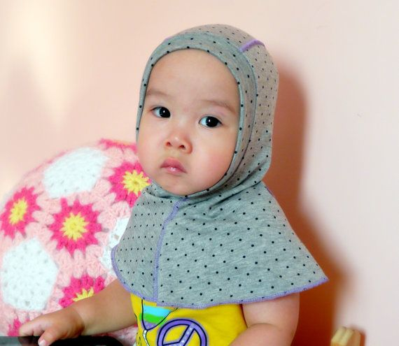Knit Balaclava Helmet Coverall Hat Suitable for 8 months by NYrika, $19.99