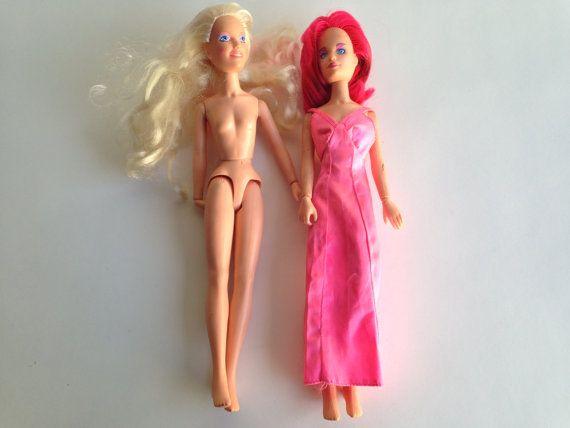 Rio and Jem Dolls Hasbro Vintage 1980 - For Custom or Repair by ThePinkRoom
