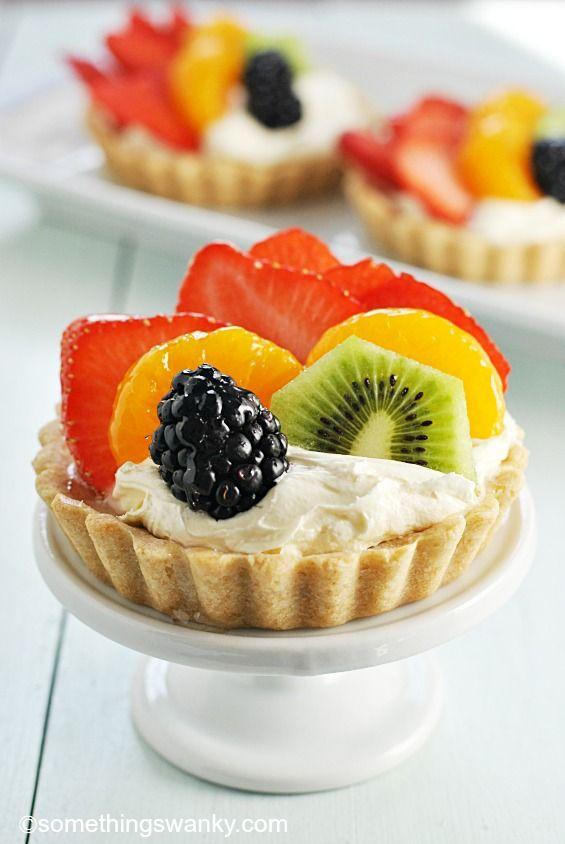 Easy fruit tart recipe sugar cookie