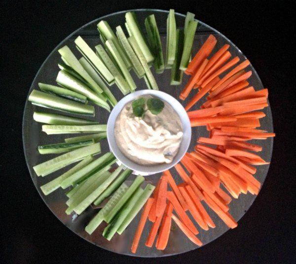 λαχανικά με αρωματικό κατίκι
