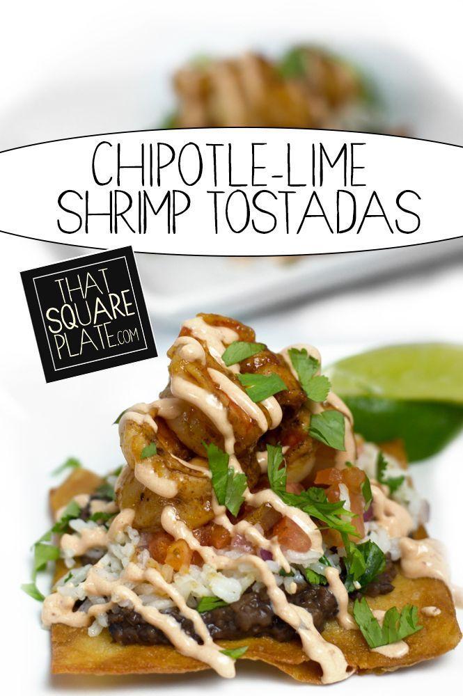 Shrimp Tostadas on Pinterest | Tostadas, Prawn and Grilled Shrimp