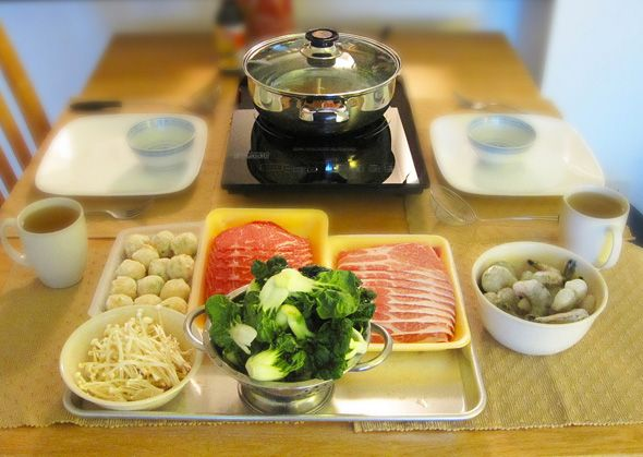 iCook (7030 Warden Ave., Markham). Delicious hot pot to warm you up. Best of all, everyone gets their own individual broth!