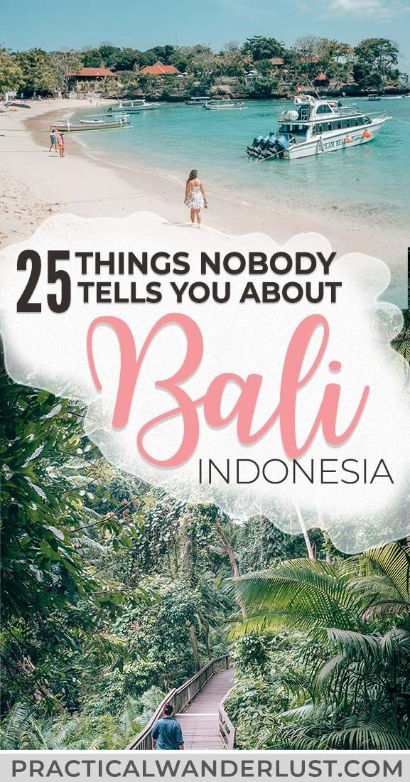 25 Things Nobody Tells You About Backpacking Bali, Indonesia