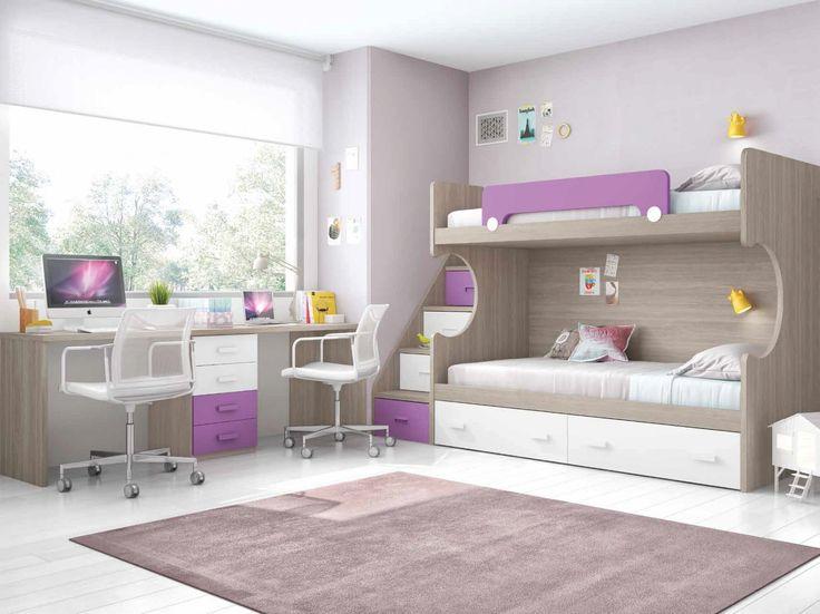 M s de 25 ideas fant sticas sobre cama litera tienda en - Vtv muebles online ...