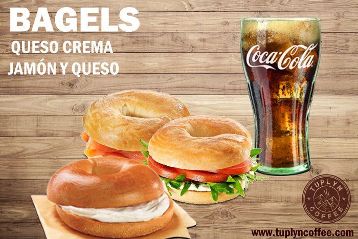 ven y  #almuerza en #tuplynoffee, #bageles, #quesocrema, #jamón y #queso, #cerveza, #refrescos, #batidos, y mucho más... www.tuplyncoffee.com