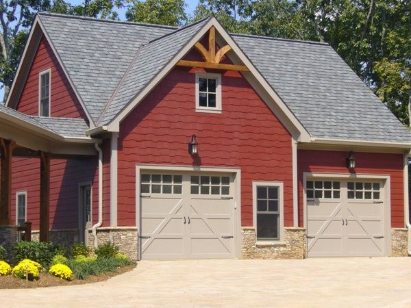 Garage plans with living quarters comtemporary 34 social for Garage designs with living quarters