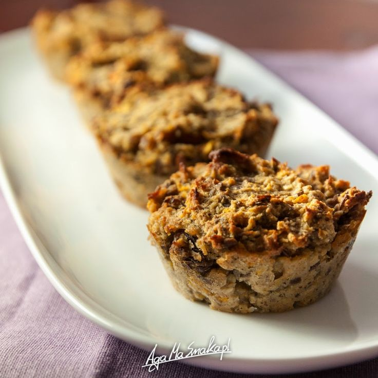 Waniliowe muffiny z dynią - wegańskie, bezglutenowe z kokosową nutą