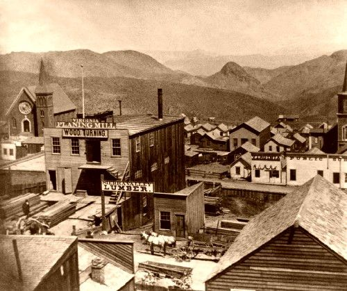 Virginia City, Nevada , 1866.