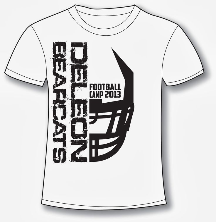football camp shirt designs google search sports ideas