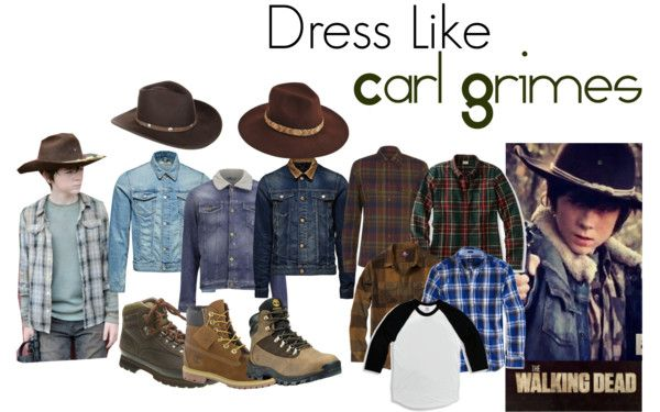 Dress Like.... Carl from The Walking Dead! and Survive with style