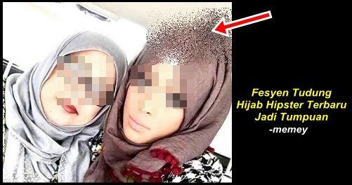 Fesyen Tudung Hijab Hipster Terbaru Jadi Tumpuan   Fesyen Tudung Hijab Hipster Terbaru Jadi Tumpuan  Beberapa keping gambar seorang gadis memakai tudung style terbaru menjadi tumpuan pengguna internet. Gambar itu telah menjadi viral baru-baru ini. Seorang gadis mengenakan tudung itu yang ternaik di bahagian atasnya.Memang nampak lain dari yang lain dan mendapat pelbagai reaksi dari netizen. Walaupun menjadi bahan gelak tetapi ada yang memberi komen 'at least dia memakai tudung dan menutup…