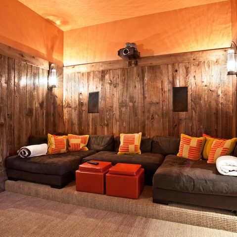 Small movie room ideas design ideas pictures remodel for Small room movie theater