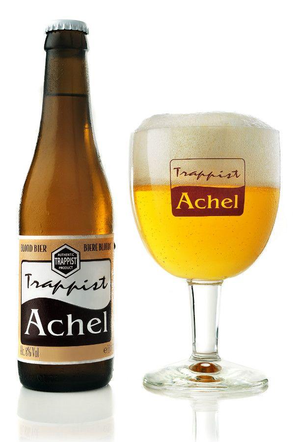 Brouwerij der Trappistenabdij de Achelse Kluis -  Achel 8 Blond(Strong ale) 8,0% pullo
