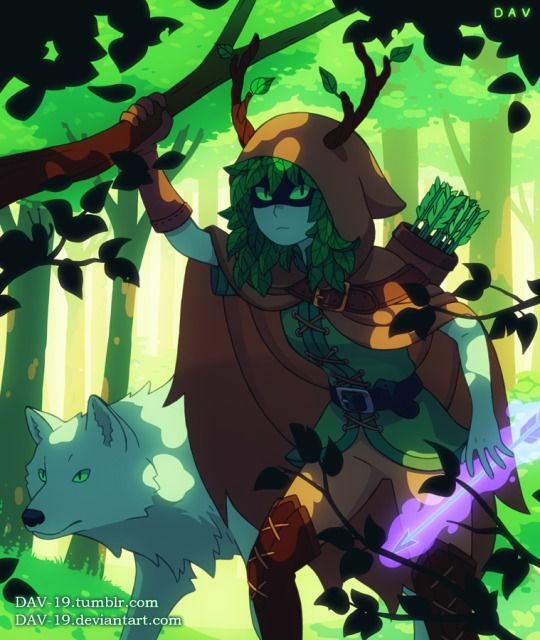 Huntress Wizard - Adventure time