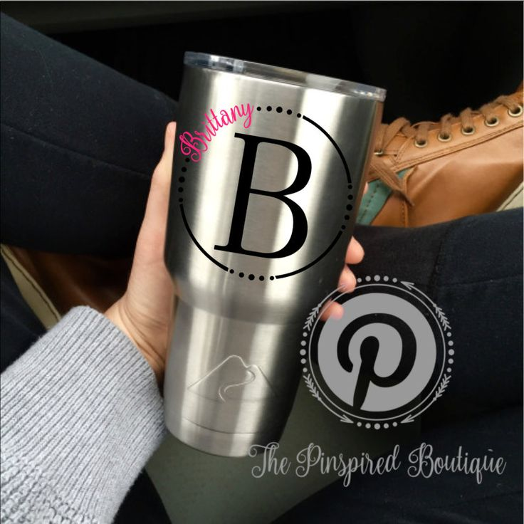 Best  Personalized Tumblers Ideas On Pinterest Party Gifts - Best vinyl for cups