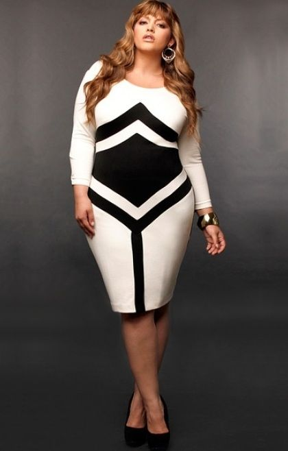 moda fashion para gorditas 7 Fashion for Plus Size Women