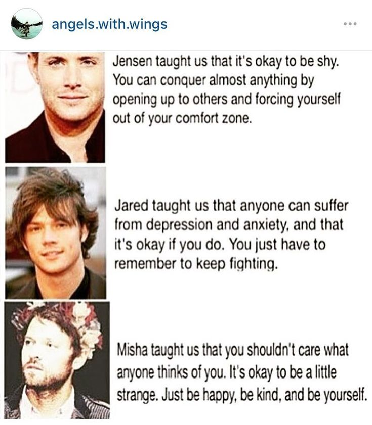 Jared, Jensen and Misha