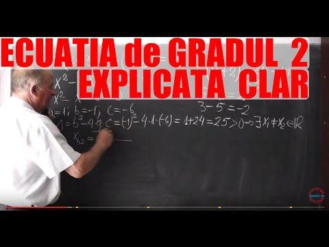 Lectia 350 - Ecuatia de gradul 2 pe intelesul vostru - Matematica cu Proful Online - YouTube