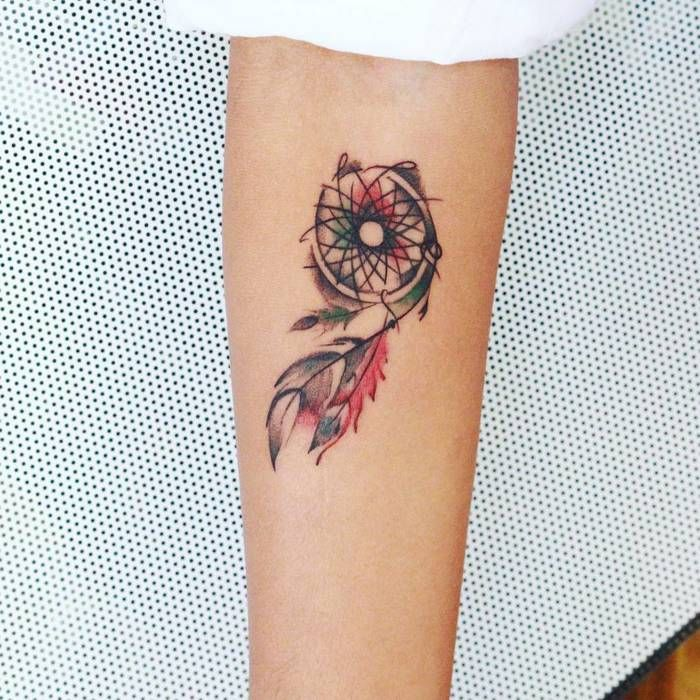 Dream Catcher Tattoo Design Idea: Best 25+ Small Dreamcatcher Tattoo Ideas On Pinterest