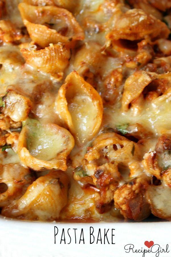 ... Baked Pasta | Recipe | Turkey Pasta, Baked Turkey and Pasta Bake