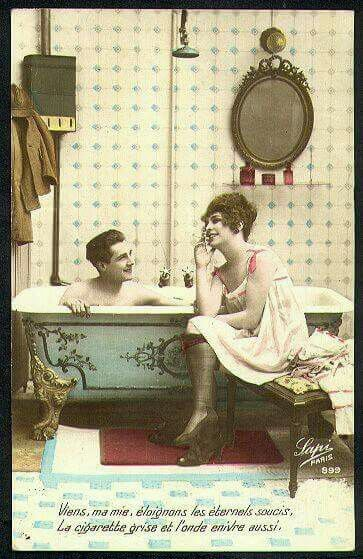 Free erotic art greeting card