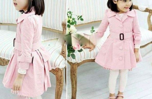 GroopDealz | Adorable Girls Trench Coat.   Just ordered this adorable coat for Caitlyn!