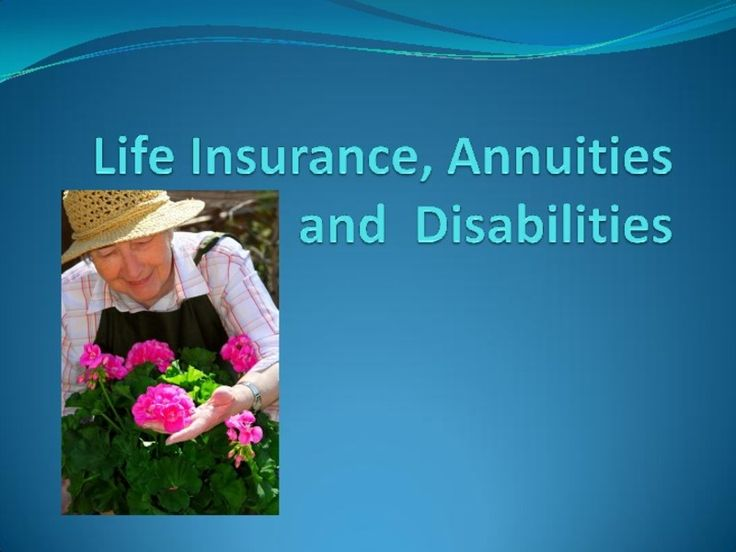 Life Insurance Presentation | Lesson Planet