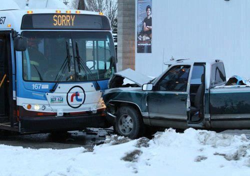 Only in Canada...sorry from a bus!