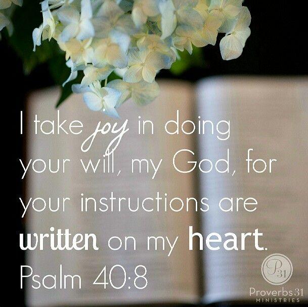 Psalm 40:8 <3