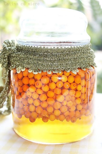 Sea buckthorn recipe for immunity boosting; makes a great Thanks Gift #Anthropologie #PinToWin