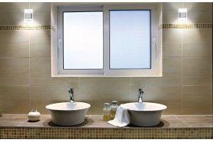 DUO TANGO - LED-Wandbeleuchtung Duo Tango in Aluminiumgehäuse dient zum Anstrahlen von Gängen, Treppen, Treppenstuffen, Wänden oder Möbelvitrinen.