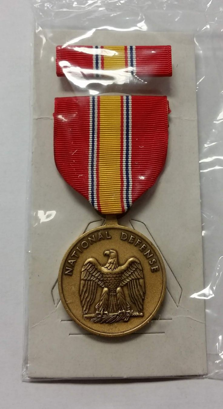 National Defense Service Medal/Ribbon Service medals