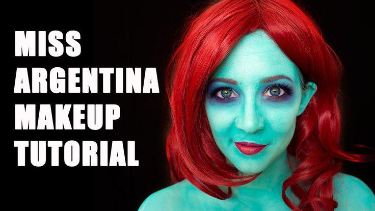 Miss Argentina (Beetlejuice) Makeup Tutorial