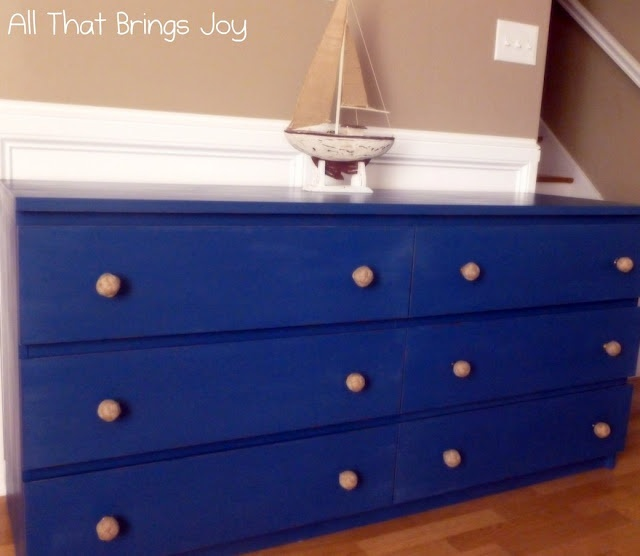 Ikea Hacker site, Nautical Dresser