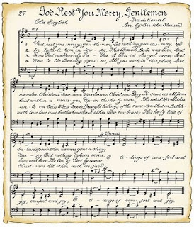 Downloadable vintage sheet music for wrapping or crafts