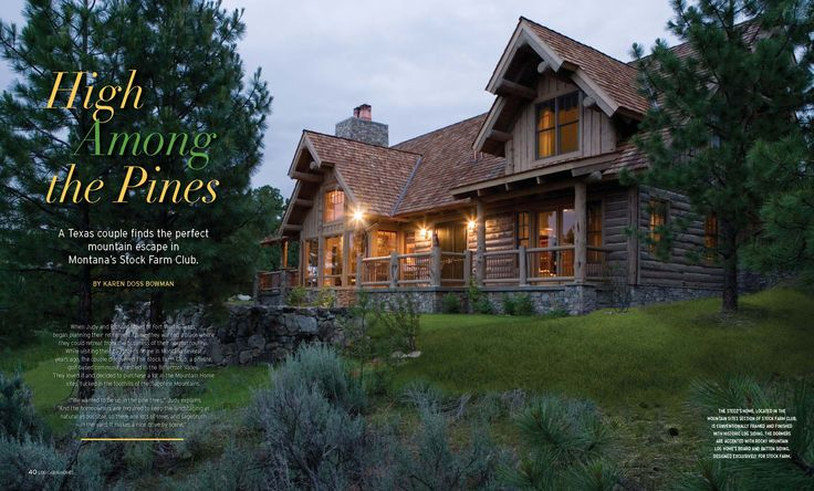 17 best images about log cabins on pinterest luxury log for Rocky mountain home builders
