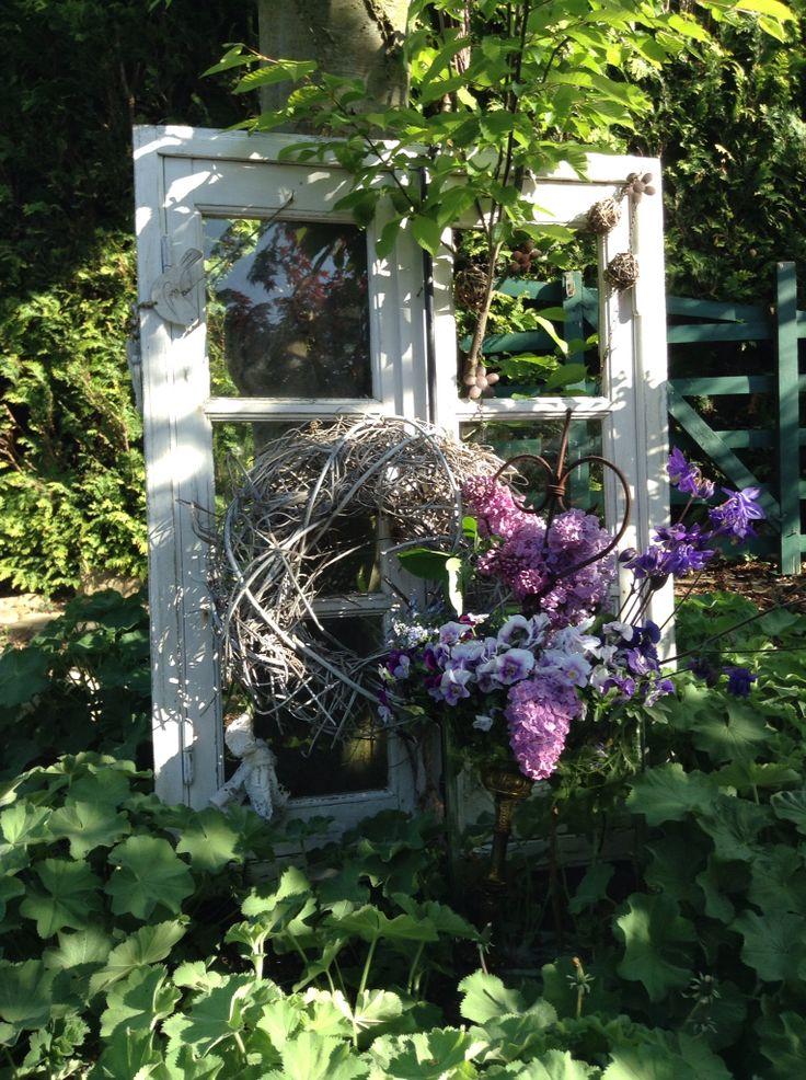 Fenster im Frühling