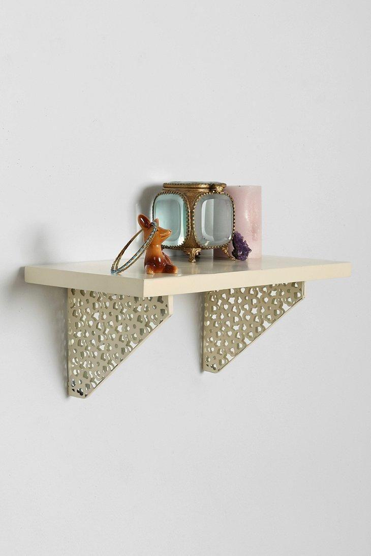 Plum & Bow Lace Bracket Wall Shelf #urbanoutfitters