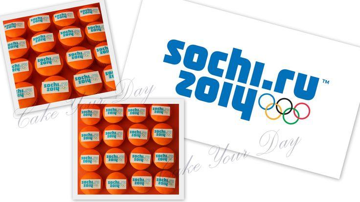Sochi Olympics cupcakes