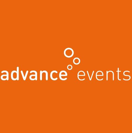 Nieuw logo en nieuwe website. Evenementenbureau Advance Events. https://www.advance-events.nl